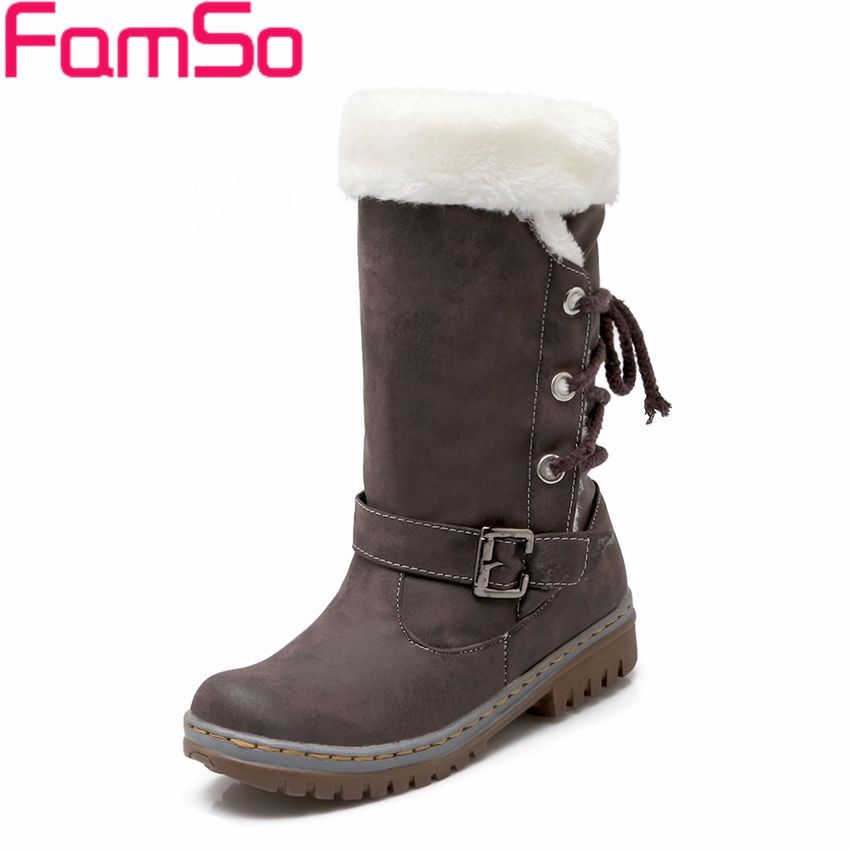 Free shipping 2016 New Women Boots Russia keep warm outdoor Riding Boots Women's Fur Boots Winter Waterproof Snow Boots SBT3262(China (Mainland))