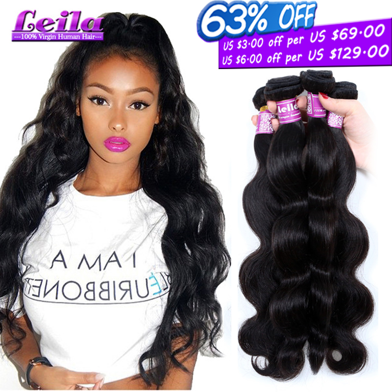 Mink 8A Grade Brazilian Virgin Hair Body Wave 4 Bundles Brazilian Body Wave Annabelle Hair Brazilian Human Hair Weave Bundles(China (Mainland))