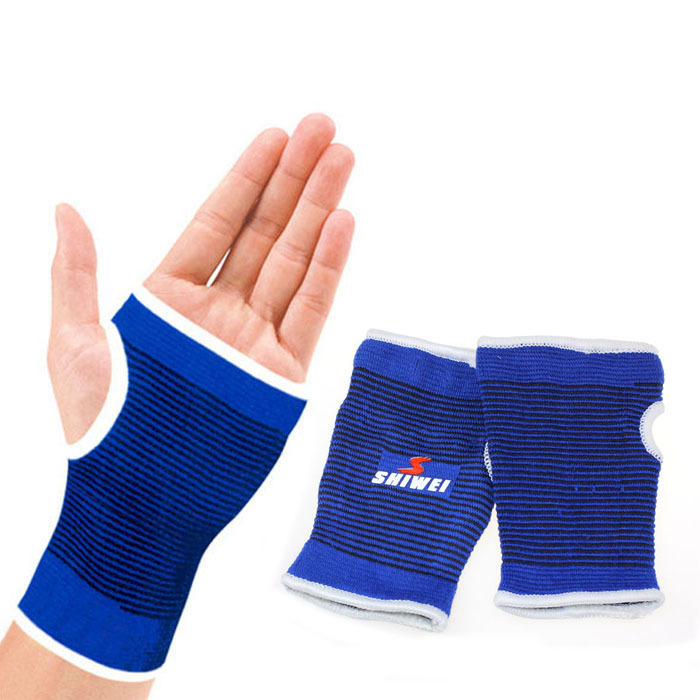Puscard Support Wrist Gloves Hand Palm Gear Protector Elastic Brace Gym Sports Free Shipping&Wholesales(China (Mainland))