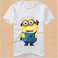 2016 Boys Girls T shirt Cartoon Anime Figure Despicable Me Minions Clothes Casual Costume Children s