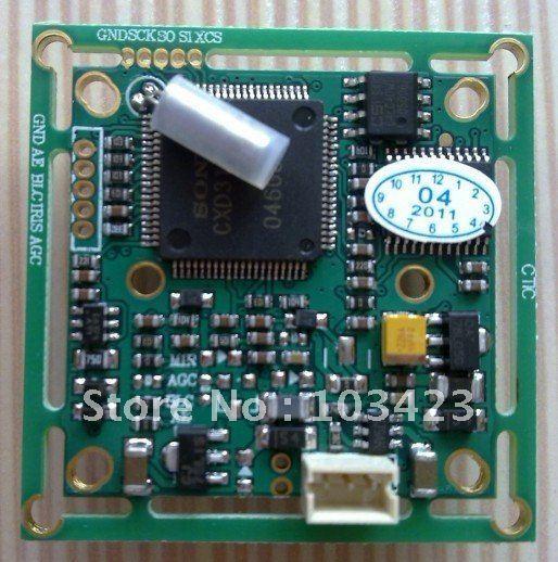 """free shipping 1/3""""  SONY 420TVL CCD Camera Board"""