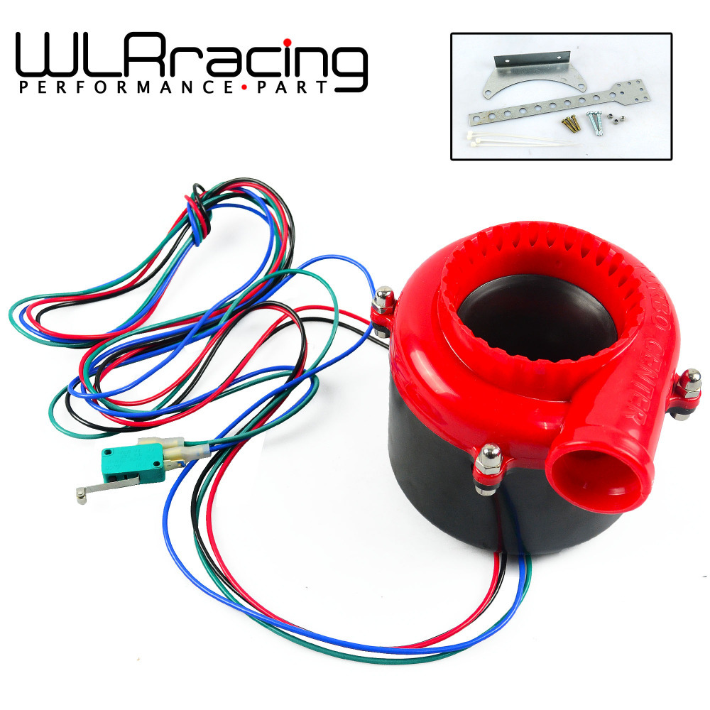 WLR STORE- Universal Auto parts car fake dump Valve electronic turbo blow off valve sound blow off analog sound bov(China (Mainland))