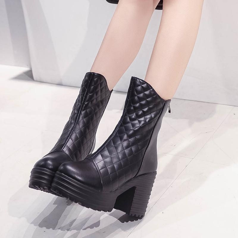 Boots Platform Heels