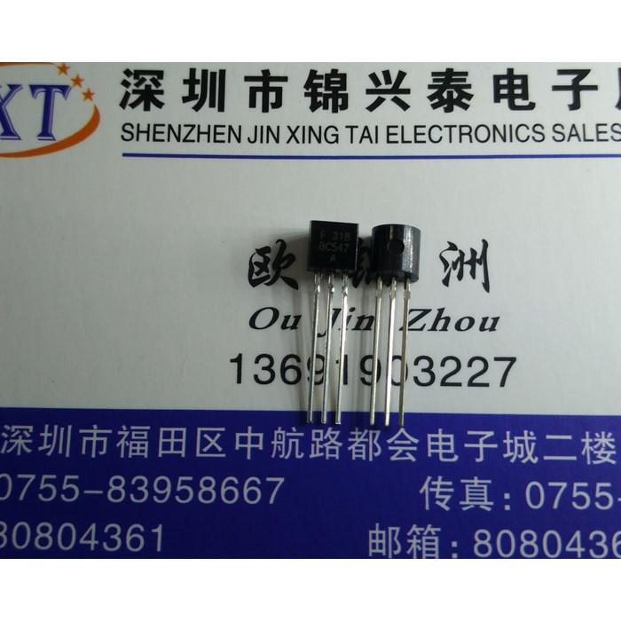 Bc547a транзистор NPN 45 В