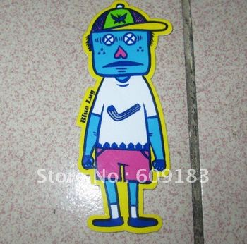 Free shipping Custom full color die cut Sticker