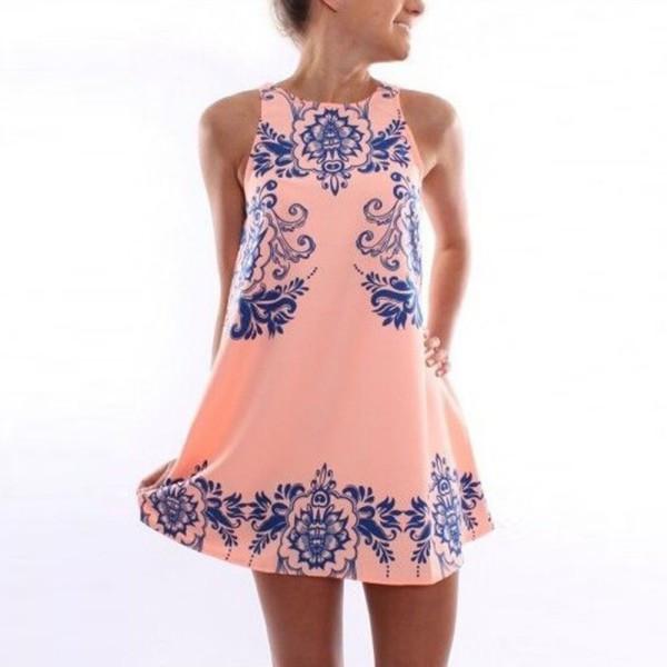 Летнее платье 2014 своими руками