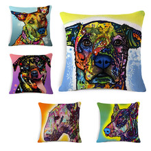 European Style Dog Cushion Covers Throw Pillow Covers