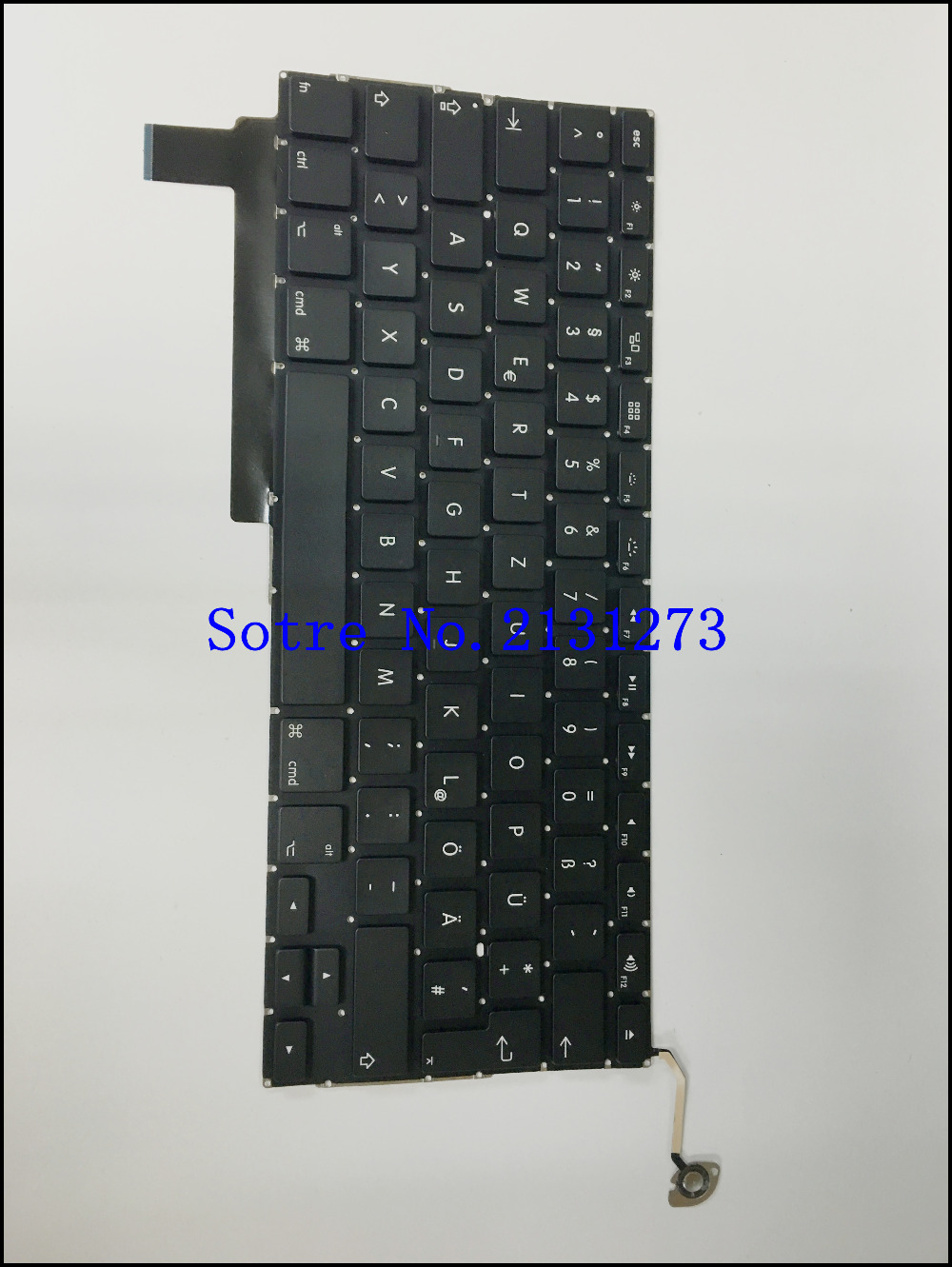 Laptop German Keyboard New For Apple Macbook 15.4inch a1286 2009 2010 2011 2012 year+Free shoipping(China (Mainland))