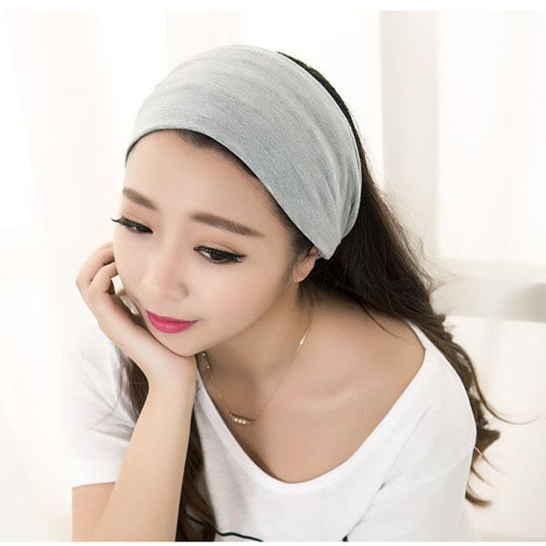 Женская повязка на голову из ткани