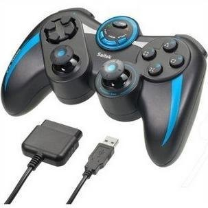 PS1000 game handle support the PS3, PS2 and PC, there are four button, eight direction digital keyboard and two shoulder button.
