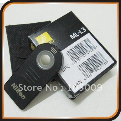 IR Wireless Remote Control for Nikon ML-L3 D80 D90 D40 D5100 D3000 D5000 D70(China (Mainland))