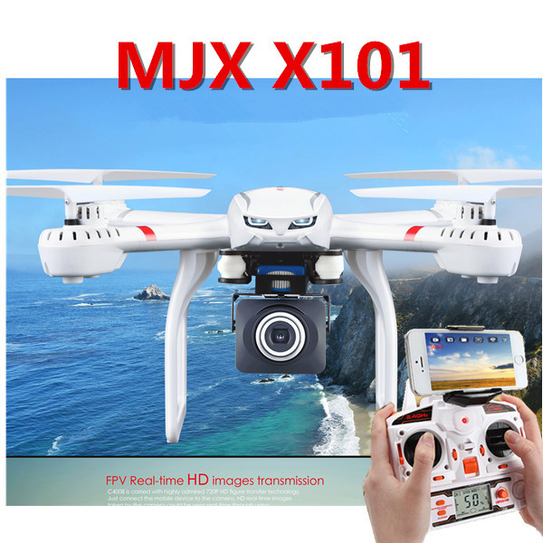 New Brand X101 Drone 2.4G RC Quadcopter Drone can add C4005/C4008 Camera FPV Real Time RC Helicopter Electronic Toy for Kids