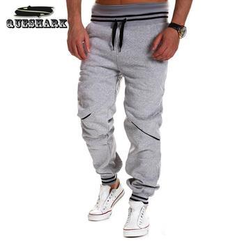 Harem Pants Skinny Sweatpants Sport Trousers Drop Crotch Jogging Pants Men Joggers Fitness Hiphop Running Pants
