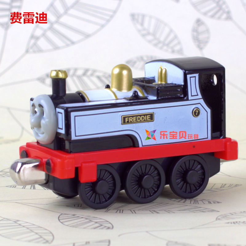 2016 new Toy Train blue alloy Thomas train set rail car Tobey Gordon Percy combined magnetic connection(China (Mainland))