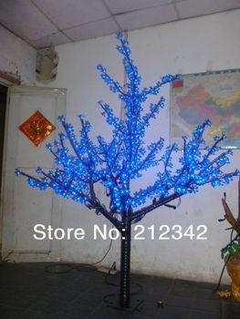 Christmas Decoration LED Artificial Cherry Blossom Tree Light Christmas Tree Festival Light 648pcs LEDs 5ft/1.5m Height Outdoor