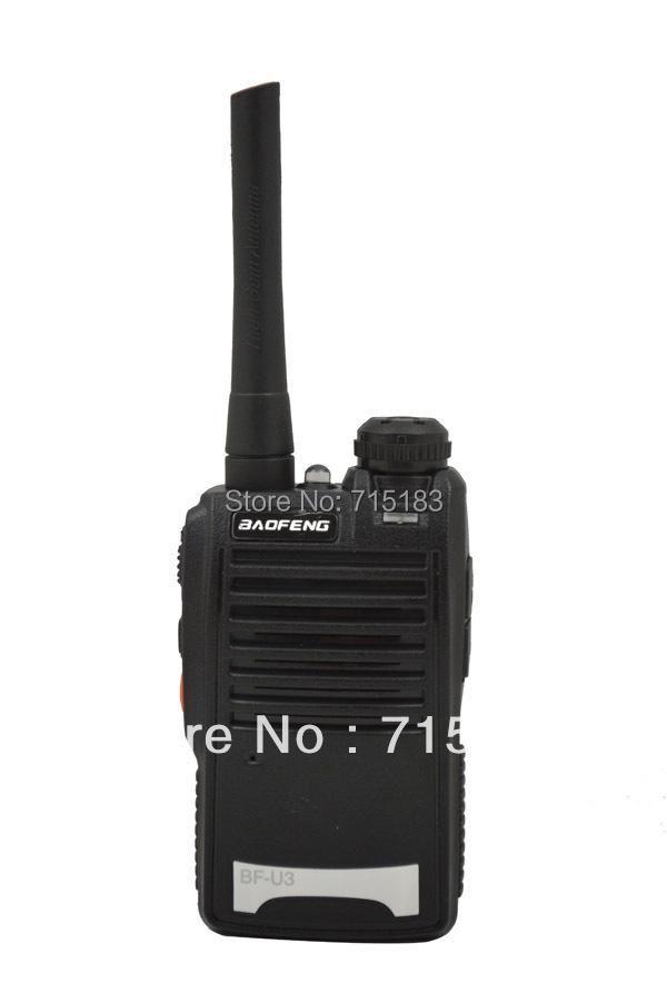 Baofeng BF-U3 UHF 400-470MHz Small Mini Pocket Interphone Transceiver Two way radio Walkie Talkie(China (Mainland))