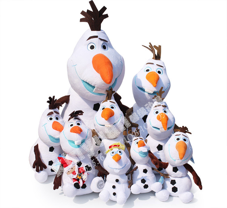 Disney Toys Top Selling New Kawaii Toys For Boy And Girls Cartoon Olaf Plush Toys Factory Cheap Stuffed Dolls Ty020<br><br>Aliexpress