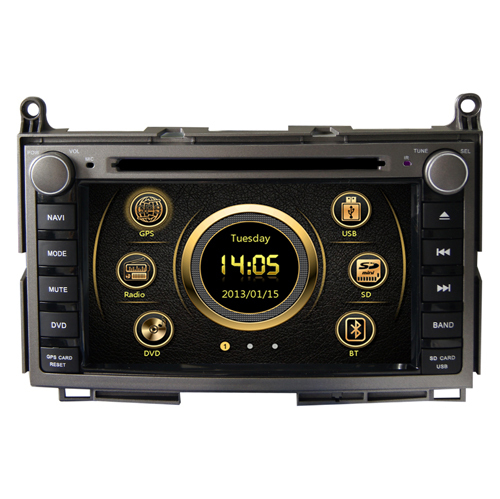 car audio gps dvd for toyota Venza with GPS Radio TV 3G DVD PIP RDS dual zone steering(China (Mainland))