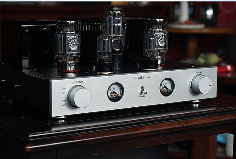 Аудио усилитель RIVALS Psvane Kt88 Hifi KT88 prince hot sale professional muzishare x7 integrate rectifier kt88 hifi power vacuum tube amplifier multicenter amp amplificador 45w 2