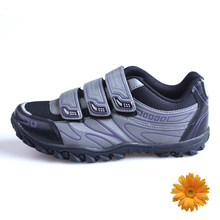 2016 Brand Cycling Shoes Gray Zapatos Ciclismo Self-locking Mountain Bike Shoes Breathable MTB Shoes Zapatillas MTB Women 37-39#(China (Mainland))