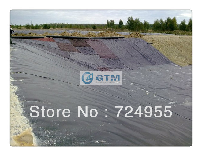 Gtm geosynthetics wholesale hdpe and lldpe geomembrane for Koi pond installation cost