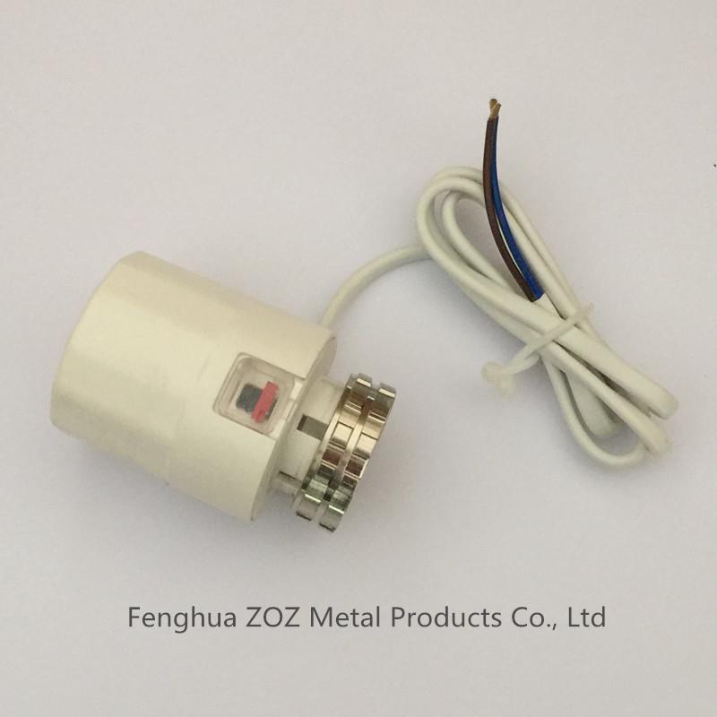 2 Wire Underfloor Heating Thermal Actuator(China (Mainland))