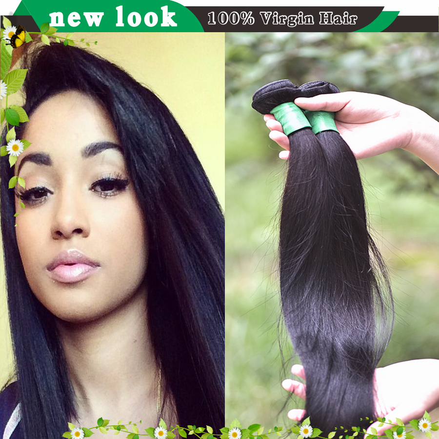 unprocessed virgin Indian hair straight indian remy straight hair weaving uk rosa india weaves raw indian hair bundle websites(China (Mainland))