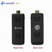 Meegopad T07 MINI PC Official Licensed Cherry Trail Windows10  4GB RAM 32G Flash Intel Quad-Core Compute TV Stick Player