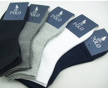 Men Sport Socks Cotton High Quality Brand Cosy Soft Elastic 1 Pair Free Shipping (China (Mainland))