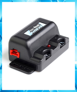 Free shipping two way car alarm system Magicar 5 Scher-Khan shock sensor 2 way alarm Vibration sensor with wires(China (Mainland))