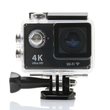 Ultra HD 4K WIFI Sports Camera 1080P Full HD Lens 2 .0 Inch LCD Display 12MP 170D Wide Angle Mini Camcorder