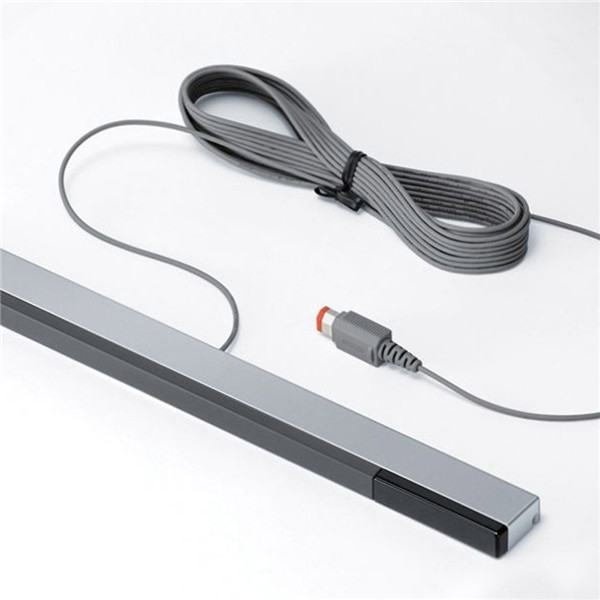 New Wired Infrared IR Signal Ray Sensor Bar/Receiver for Nintendo for Wii Remote Game Accessories(China (Mainland))