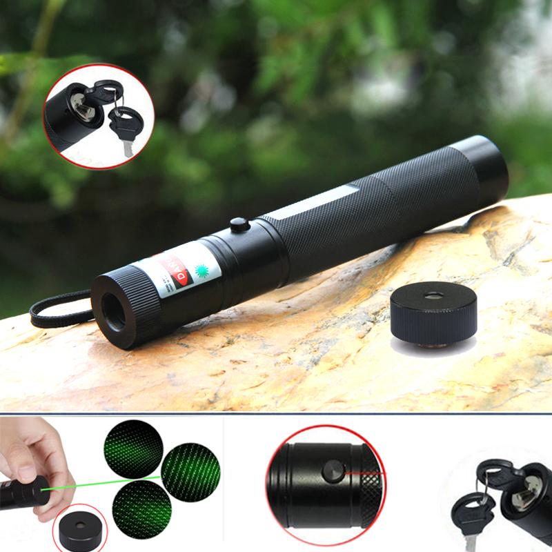 Super Power Green Lazer 1000mw 532nm Green Laser Pointer Pen Laser 1000mw Laser Point With Babysbreath Light +Safe Key HJ102(China (Mainland))