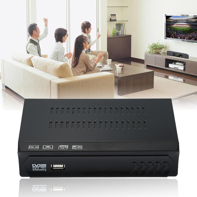 Full HD DVB-S2 HDMI Digital Video Broadcasting Спутниковое ТВ Приемник Set Top Box Совместимость с DVB-S/S2, MPEG-2/4 для HDTV full hd 1080p tv box dvb t2 s2 combo digital video broadcasting receiver box