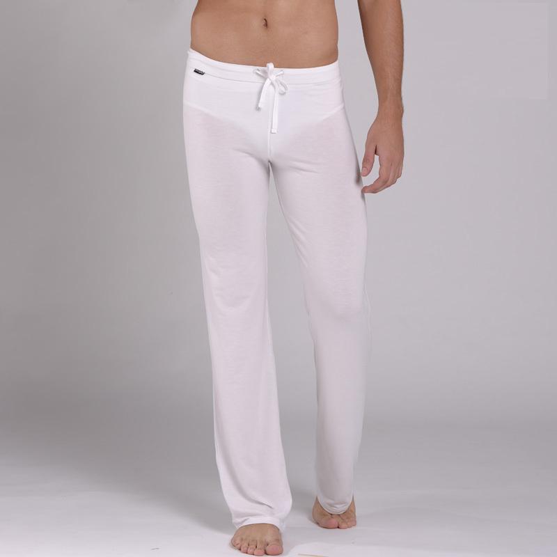 Mens White Pajama Pants