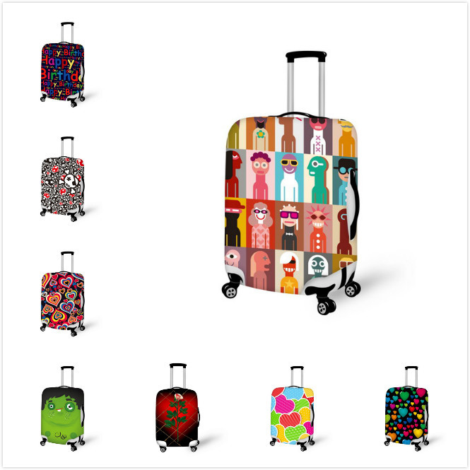 Super Fashion Original Elastic Travel Luggage Suitcase Protective Cover,Stretchable,Made For M 22 -26 inch Luggage Suitcase<br><br>Aliexpress
