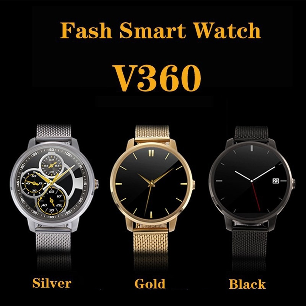 High-End Wrist Smart Watch Men's Round Clock