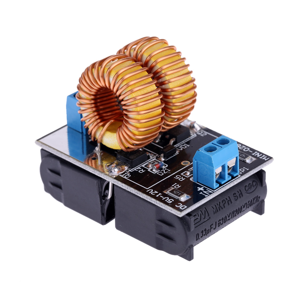 5-12V ZVS Low Voltage Induction Heating Power Supply Module Induction Heating board for induction heating power supply with Coil(China (Mainland))