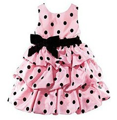 1 piece retail new 2015 dot girls dress party dresses red pink princess - Big Deal Fashion store