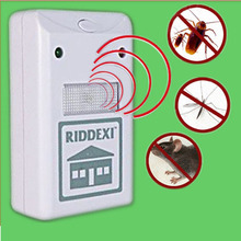 (US Plug ) Riddex Plus Electronics Pest Reject & Rodent Repellent eletronico insect killer JR(China (Mainland))