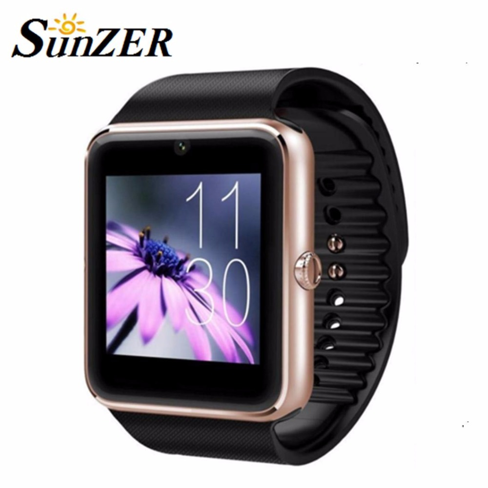 GT08 Bluetooth Smart Watch Clock Wearable Devices Support SIM TF Card Smartwatch for IOS Android OS Phone Push Message in Stock(China (Mainland))