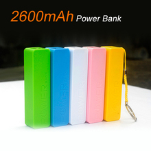 Colorful  Mini Power Bank Key Chain USB 18650 Battery Charger for iPhone for Samsung for HTC for Huawei(China (Mainland))