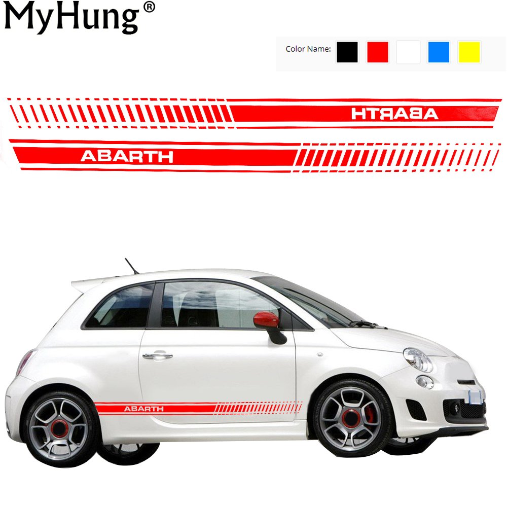 Car full body sticker design - Car Stickers Decoration Car Whole Body Stickers For Fiat 500 Abarth Grande Punto Bravo Doblo Panda