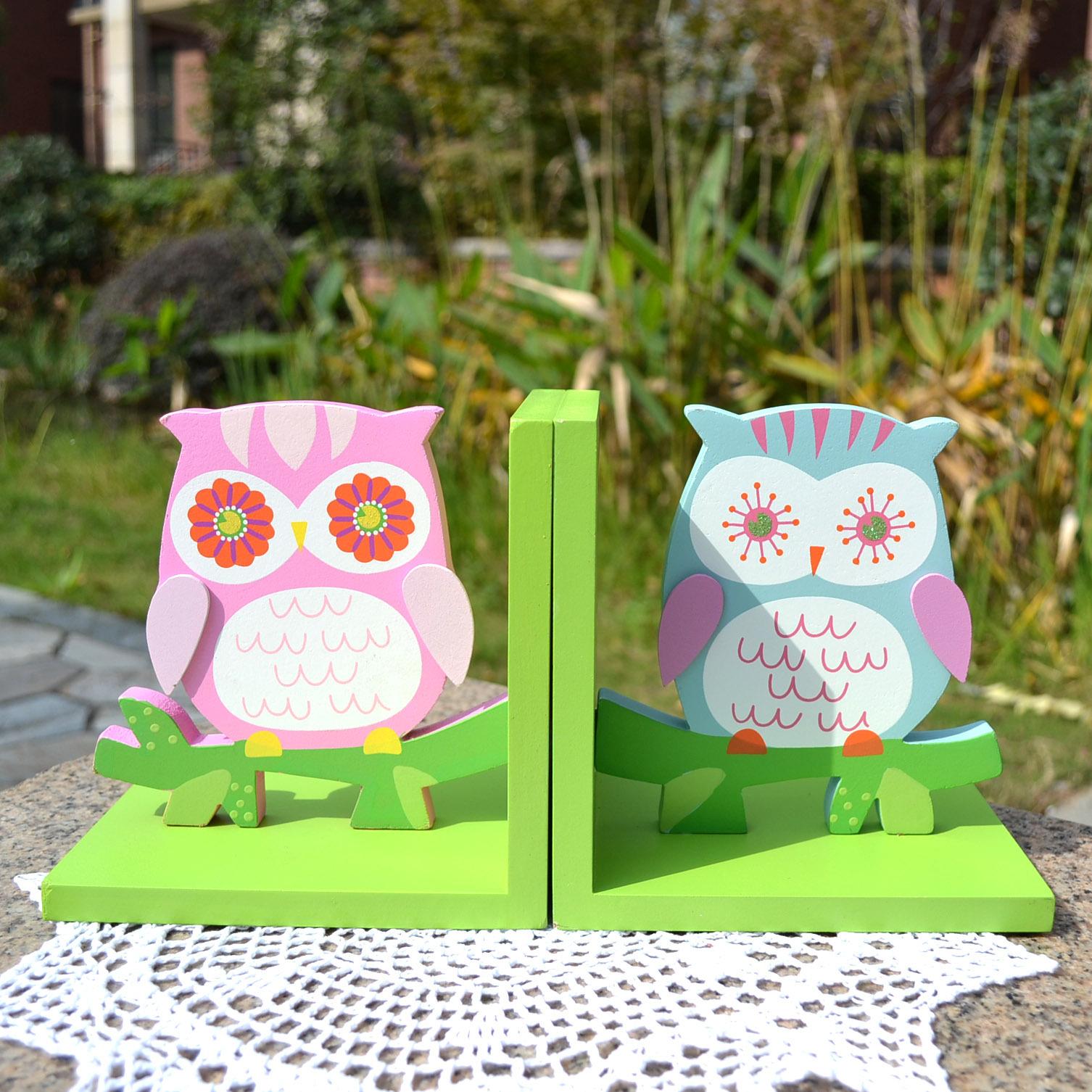 Kind echte wol decoratie uil boekbestand boekensteun boekenplank end geschenk huisdecoratie in - Decoratie kind ...