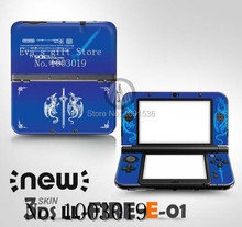 For MH4 front&back Decal Skin Sticker for Nintendo for New 3DSXL Sticker for New 3DS XL LL