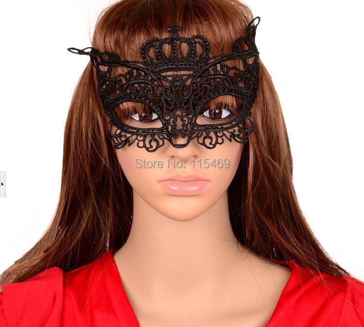 Paintball 1Sale European American Taste Dance Nightclub Lace Gothic Masquerade Masks - susanna lam's store