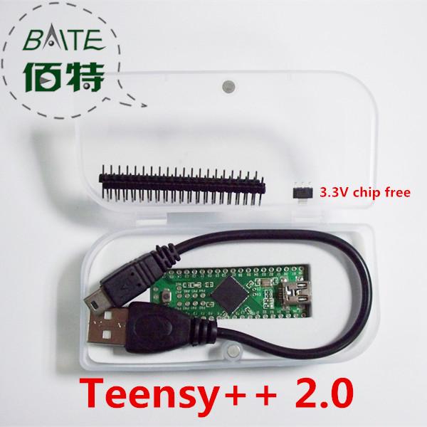 Genuine PJRC Teensy++ 2.0 USB AVR develope board for ps3 Teensy (free 1pcs usb cable)(China (Mainland))