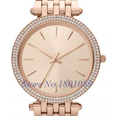 2015 Famous Brand Luxury Fashion Casual Watches Ladies Women Wristwatches Rose Gold Quartz Female Clock Montre Femme Reloj Mujer(China (Mainland))