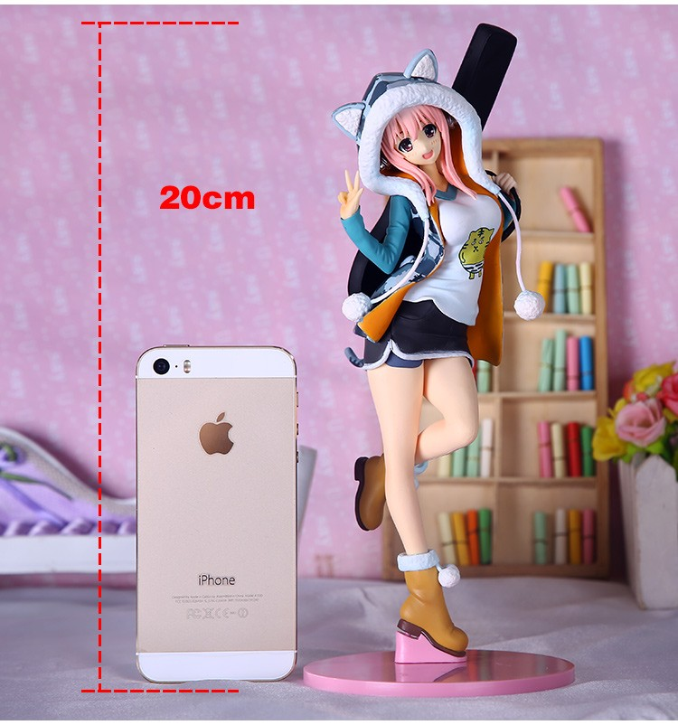 20CM Japanese Anime Attractive Doll Tremendous Sonic Motion Determine PVC assortment mannequin toys for boys