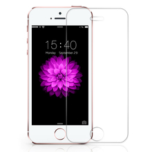 Original 0.3mm 2.5D Tempered Glass Screen Protector For iPhone 4 4S 5 5S 6 6S Plus 7 7 Plus HD Toughened Protective Film